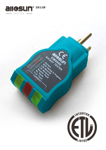 Picture of EM9806, ETL marking, SOCKET TESTER